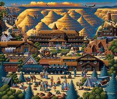 Show details for Grand Canyon Original Eric Dowdle