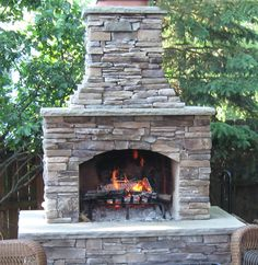 outdoor fireplace - Bing Images