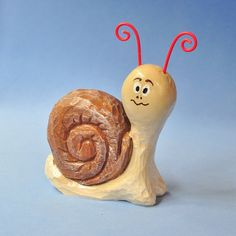 Cute Hand Carved Snail Home Decoration Wood Carving Animal, Wood Carving, Home Decor, Shelf. $16.00, via Etsy.