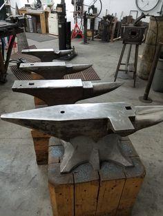 My anvils, Alaska Blacksmithing