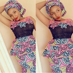 Zaineey's Blog : Gorgeous Ankara Skirt and Blouse Styles for Ladies...