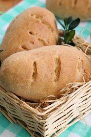 Chlebki które polecam zrobić samemu i podzielić się z rodziną. Będą zachwyceni, takim domowym chlebkiem do koszyczka. Oczywiście można ... Bread, Food, Brot, Essen, Baking, Meals, Breads, Buns, Yemek
