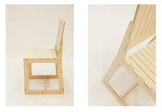 c-chair by Wiktoria Szawiel, via Behance