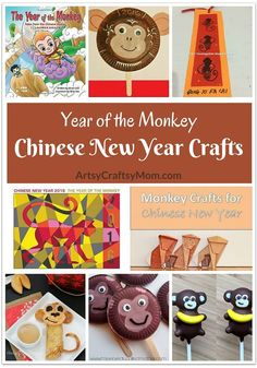 The Chinese New Year is about to start and it's the Year of the Monkey in 2016. Celebrate this occasion with 10 gorgeous Chinese New Year Crafts for kids!