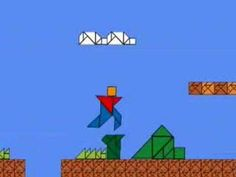 Mario tangram video! Awesome for geometry too!
