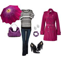 Pink/Purple, created by melissa-bachman.polyvore.com