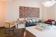 Wohnzimmer Dekorieren Polstermöbel-offen Plan Wandbild schuppenartige-Motive
