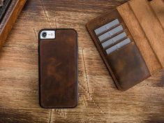 iPhone Plus Case,Brown Leather iPhone 7 Case, iPhone 7 Wallet, iPhone 7 Wallet Case, iPhone 7 Pl Iphone Wallet Case, Iphone 7 Plus Cases, Brown Leather, Handmade, Etsy, Hand Made, Tan Leather, Brown Skin, Handarbeit