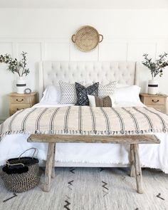 63 Ideas for coastal boho bedroom interior design Coastal Bedrooms, Pottery Barn Bedrooms, One Bedroom, Bedroom Ideas, Bedroom Inspiration, Bedroom Signs, Design Bedroom, Master Bedrooms, Bed Room