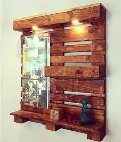 Use Pallet Wood Projects to Create Unique Home Decor Items – Hobby Is My Life Pallet Projects Diy Garden, Pallet Crafts, Wood Crafts, Wood Projects, Palet Projects, Woodworking Projects, Woodworking Workbench, Art Crafts, Fine Woodworking