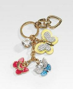 Juicy Couture Engagement Ring Keychain Fob 35