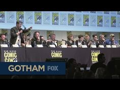GOTHAM | Comic-Con 2015 Panel (Part 1) - YouTube- better watch out Jerome
