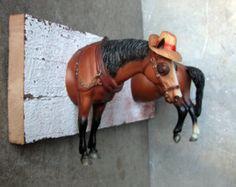 EQUINE COLLECTION Warmblut Pferd Buchstütze aus von EQUINEbyLauren