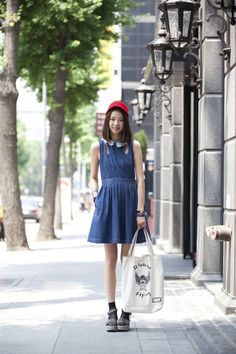 Irene Kim/denim dress