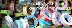 washi tape, japanes fabric, stationery, and more from MAIGO