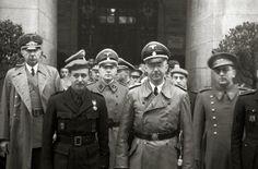 Himmler visits Spain
