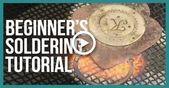 Beginners Soldering Tutorial Jewelry Making  Beaducation.com