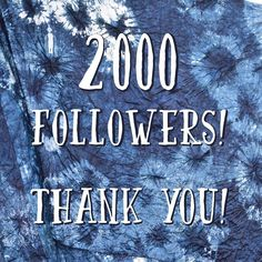 Thanks for following us! We're so glad for your interest in our #smallfarm! #farmlife #grateful #milestone #thanksforthelove #2k