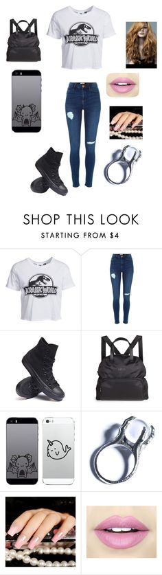 """""""nerd #1"""" by jaydenloveyourstyle04 ❤ liked on Polyvore featuring New Look, Converse, Titika, Kill Star and Fiebiger"""