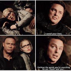 Arrow - Malcolm, Felicity & Diggle #3.23 #Season3