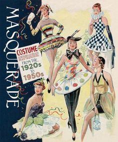 Masquerade: Costume Inspirations by Blue Lantern Studio Vintage Fur, Mode Vintage, Masquerade Costumes, Halloween Costumes, Vintage Costumes, Vintage Outfits, 1920 Costumes, Retro Fashion, Vintage Fashion