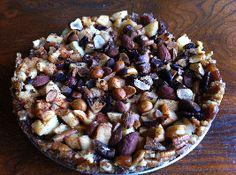 Appel-notentaart gezoet met dadels - Voedselzandloper