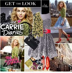 """Back To The 80s With The Carrie Diaries !"" by anitalolonga ❤ liked on Polyvore"
