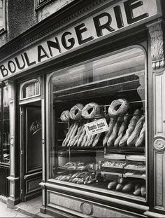 Bakery France circa 1935 Fay S.Lincoln Penn State Special Collections, University Park, PA, USA.