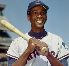 May 8, 1973  One of the more interesting trivia questions.  Frank Robinson is commonly known as the first black manager in major league baseball, but on this day, Ernie Banks replaces Whitey Lockman as manager in a victory over the San Diego Padres 3-2 in 12 innings.    http://bit.ly/J9hjqX