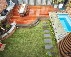 How did they do this in just one week?! What a sublime back yard created by @joshandelyse. Definitely worthy of being on the front cover of a magazine! #9theblock #theblock #roomreveals http://ift.tt/2y2mhGl