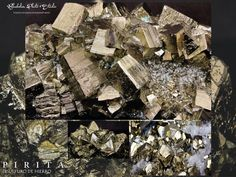 Pyrite, La Serena, Coquimbo, Chile. Pentadodecaedrons