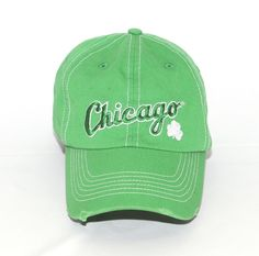 September 7, 2012  Halfway to St. Patrick's Day Green White Sox Cap First 20,000 fans 21 and over