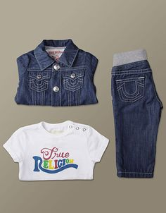 c08f2b675 Baby True Religion Set mo Authentic sought after set. Guaranteed attention  getter when your baby shows up.