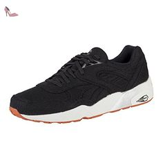 Blaze Ignite Plus, Sneakers Basses Mixte Adulte, Noir Black-Barbados Cherry Black 01, 45 EUPuma