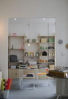 #tables #display Future and Found Interior Decor Homeware Tufnell Park Curate and Display Blog