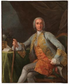 1759 Giuseppe Bonito - Leopoldo de Gregorio,... | History of fashion in art & photo