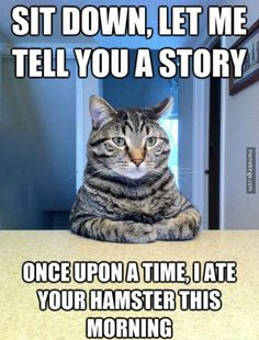 Good story! Tell another.