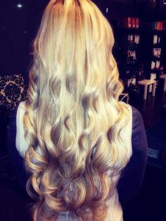 Gorgeous blonde hair
