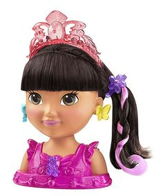 Fisher Price Ballerina Dora Styling Head #zulily #zulilyfinds