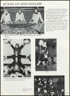 Find yearbook pictures from the 1972 John Glenn High School yearbook for free, or buy a reprint. Cheerleading Pictures, Cheerleading Uniforms, John Glenn, High School Yearbook, Yearbook Photos, Freshman, Jr, College