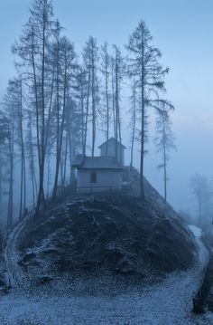 Church on a hill / Rietz, Tyrol - Austria