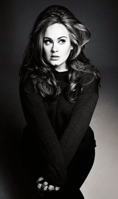Adele...I loved her before every person in the world jumped on the bandwagon.