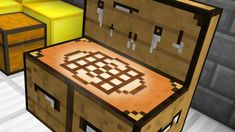 Get this new crafting table for your minecraft worlds! It's got new crafting.