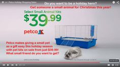 """GREAT NEWS RABBIT ADVOCATES! YOU DID IT AGAIN!!!  The Petco ad encouraging parents to buy small animals as Christmas gifts for children -- a terribly conceived ad which promoted a tiny wire-topped cage as part of a """"rabbit starter kit"""" -- is being PULLED!  According to Petco Foundations President, Susanne Kogut, that the ad will come down tomorrow.  Thank you Petco for listening to the outcry from the rescue community. And thanks to all who let Petco know how much damage this ad campaign…"""