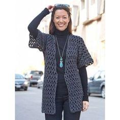 Perfect Office Crochet Jacket