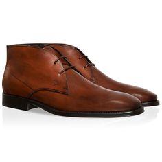 Leather Lace-up Ankle Boots XXM0TZ00D80D9CG804 - 1