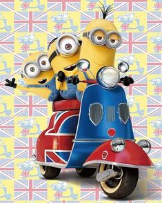 Minions - let's take a ride in the city amigos!