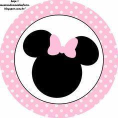 Minnie Rosa: Etiquetas para Candy Bar, para Imprimir Gratis.                                                                                                                                                      Más