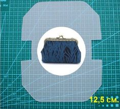 Crochet Purse Frame Diy 46 New Ideas Coin Purse Pattern, Coin Purse Tutorial, Leather Bag Pattern, Wallet Pattern, Crochet Rug Patterns, Bag Patterns To Sew, Diy Bags Purses, Frame Purse, Embroidery Bags