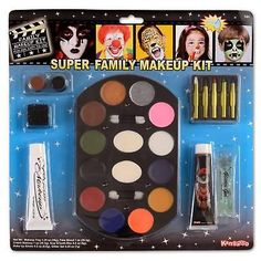 Halloween  Family Makeup Kit Costume Accessory Party Stage Play Super Jumbo Play